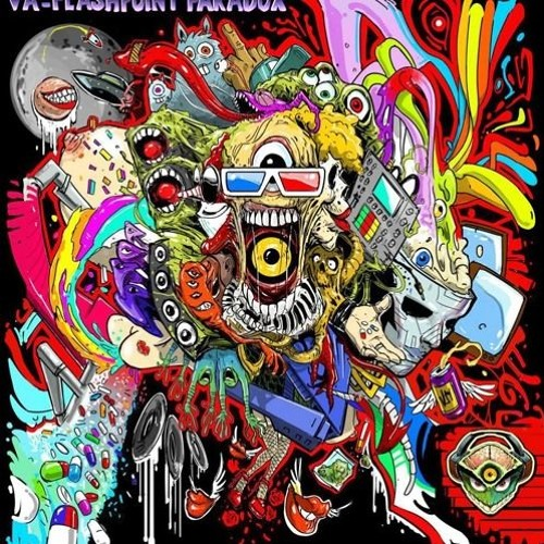 TWISTED PSYCHOLOGY - BEST WAY IS PSYCHEDELICS 190 BPM (released on V.A. - Flashpoint Paradox)