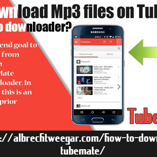 How To Download Mp3 Files On TubeMate YouTube Vide