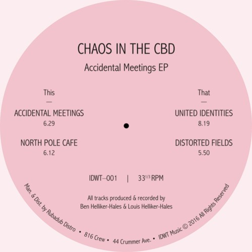Chaos In The CBD - Distorted Fields