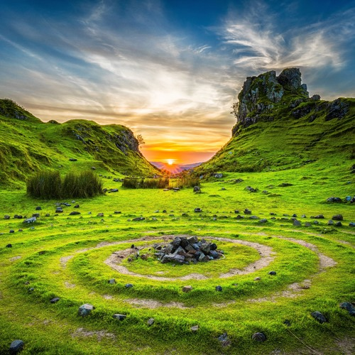 [Celtic Fantasy] → Nomadic Sunset (Free Download)