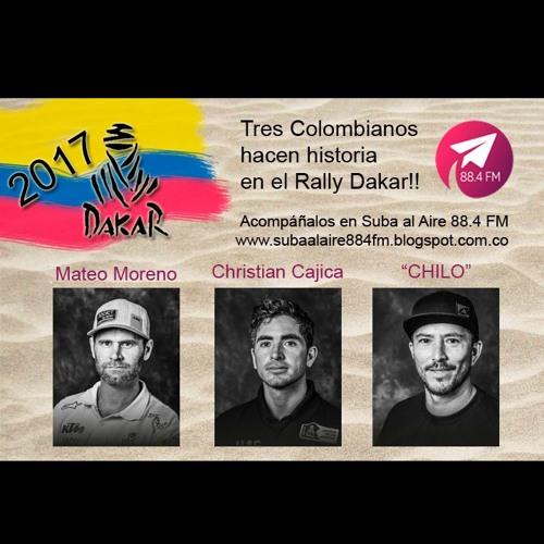FIN DE SEMANA PARA COLOMBIA EN EL DAKAR 2017