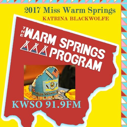 Warm Springs Program - Miss Warm Springs 2017