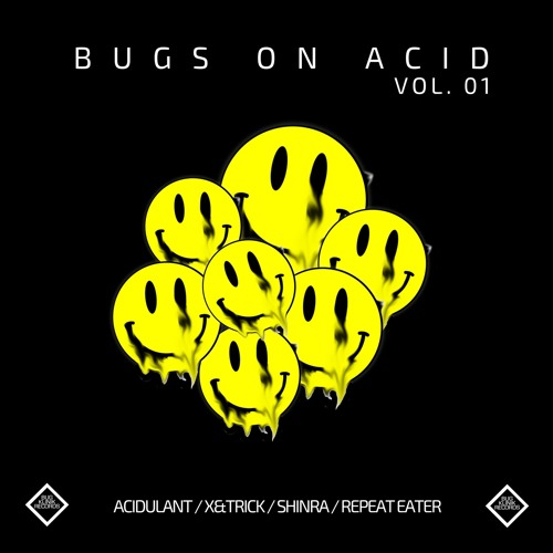 BK018 V/A Bugs On Acid Vol.1 (previews)