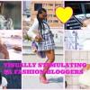 Beauty intern at Glamour Magazine Yolisa Mjamba