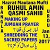 Mufti Ruhul Ameen Sahib: Question-Answers