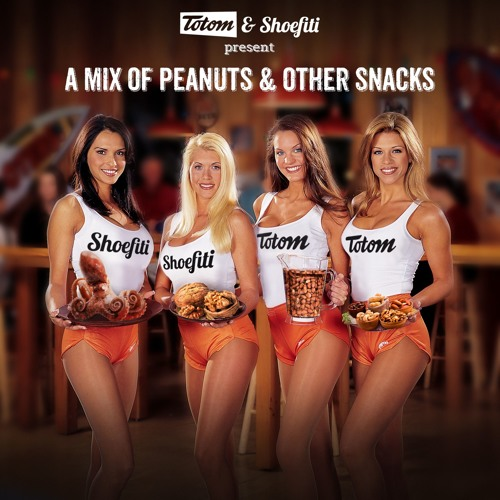A Mix of Peanuts and Other Snacks