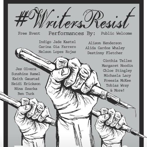 Writers Resist: Poetry of Love and Resistance 2017-01-15
