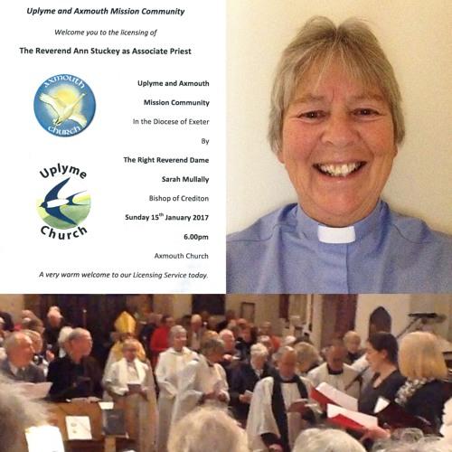 Revd Ann Stuckey Licensing Service
