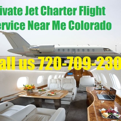 Luxury Private Plane Jet Charter Flight Service Denver, Colorado Spring, CO