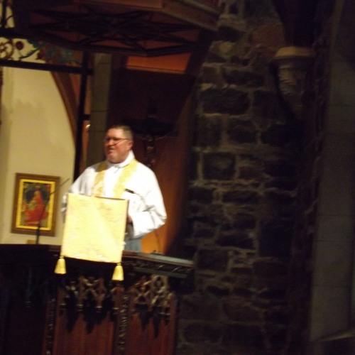 Fr. Free's Sermon, John And Alyssa Carlson Wedding, 12-31-16