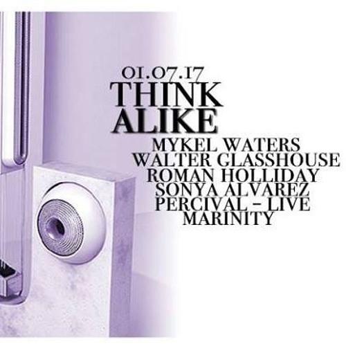 Think Alike - Walter Glasshouse - DJ Mix