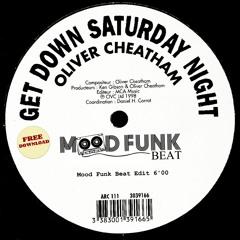 Get Down Saturday Night (Mood Funk Beat) // FREE DL