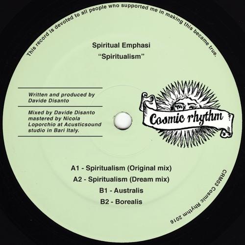 "CRM03 // Spiritual Emphasi - Spiritualism 12"""