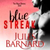Blue Streak by Jules Barnard, Narrated by Zachary Webber and Emily Bauer