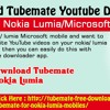 Download TubeMate YouTube Downloader On Your Nokia Lumia Microsoft Phone