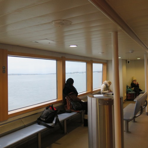 7 Minutes Of The Helsinki Ferry To Suomenlinna Tuesday 17th January 2017 14.20pm
