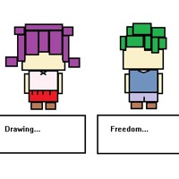 Drawing Freedom Nes Version