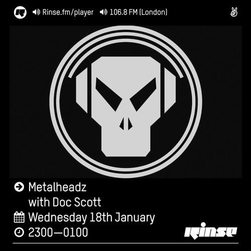 Rinse FM Podcast - Metalheadz w/ Doc Scott - 18th January 2017
