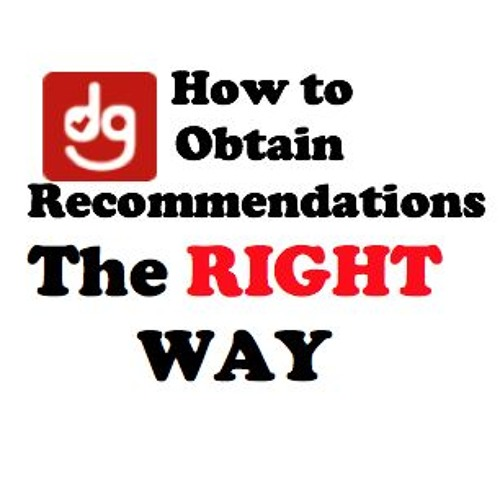 How to Obtain Recommendations the RIGHT WAY Daily DANDAN Ep 43