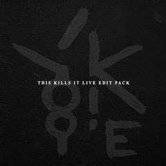 Skrillex - Scary Monsters & Nice Sprites (YOOKiE's 'This Kills It Live' ViP)