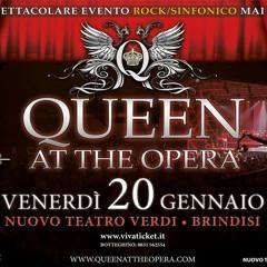 AUDIO Intervista Simone Scorcelletti Per Queen At The Opera a Brindisi