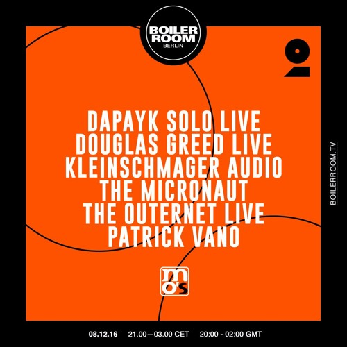 Douglas Greed Boiler Room Berlin Live Set By Boiler Room Free