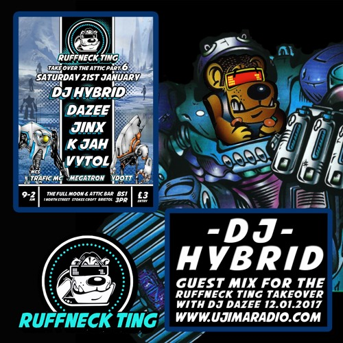 Dj Hybrid Guest Mix For The Ruffneck Ting Takeover Jan 2017