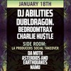 WORMHOLE PRODUCERS SOCIAL TAKE OVER 1/18/17