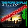 TPOF ANNOUNCEMENT #5 - LITTLE BOY!