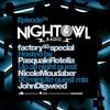 Nicole Moudaber & John Digweed & Pasquale Rotella - Night Owl Radio Factory 93 Special 074 2017-01-20 Artwork