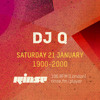 DJ Q - Rinse FM 2017-01-21 Artwork