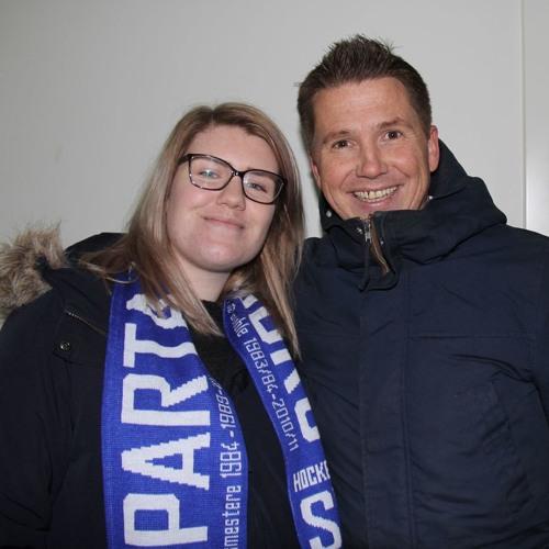 Kasper Wikestad fra TV2-sporten på Radio Skjeberg