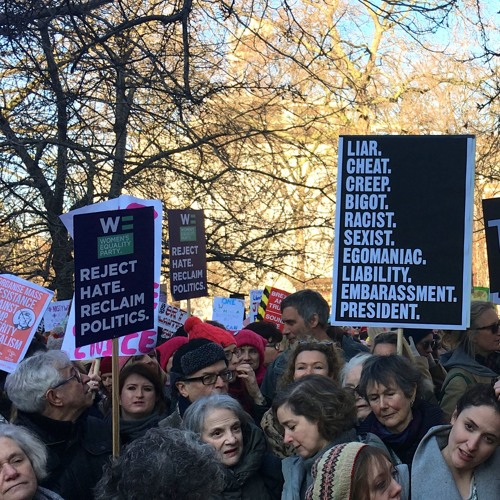 Voices from London's Women's March