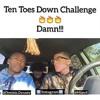Ten toes down challenge (Milato & Dominic) Pt. 1
