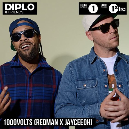 Diplo & Friends Guest Mix - 1000volts (Redman & Jayceeoh)