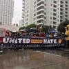 Despite Heavy Rain, LA Activists Inaugurate Resistance to Trump