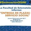 Plazas Servicio Social 2017