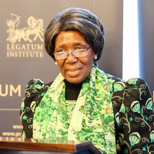 HH Mrs Inonge Wina Vice President of Zambia 24/1/2017