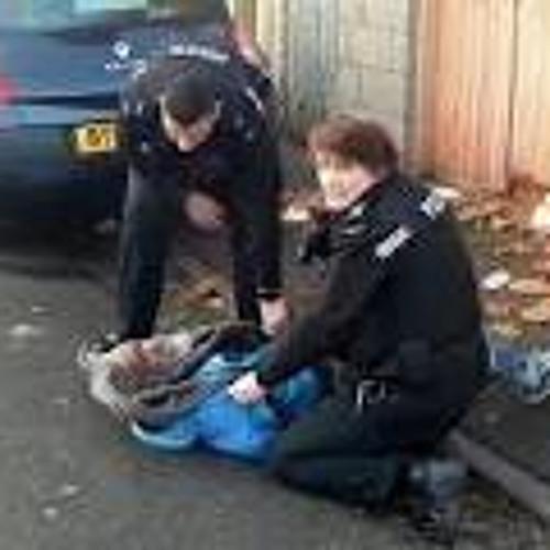 POLICE TASER THEIR OWN RELATIONS advisor  - BLACKOUT JA &  RANKING SNOOPY
