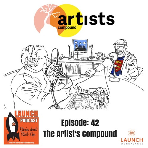 #LaunchPodcast Episode: 42 Artists Compound - talking Vector Graphics with Ben