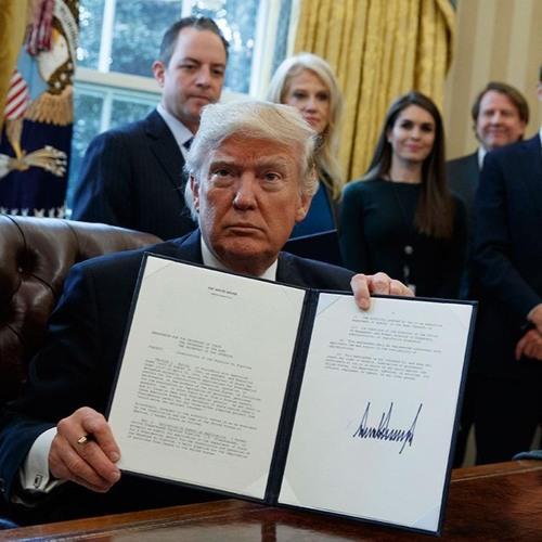 Trumps USA: I ideologisk forstand tager Trump et opgør med USA som et åbent land