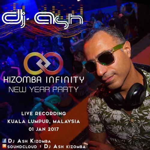 DJ ASH - KIZOMBA INFINITY MIX - Live Recording in Malaysia - January 2017  [FREE DOWNLOAD]
