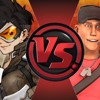 Tracer Vs Scout Rap Battle Nightcore