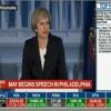 #TheresaMay Speaking In Philadelphia - #UK #US so special #relationship