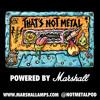Halloween Bowling Ball: Powered By Marshall