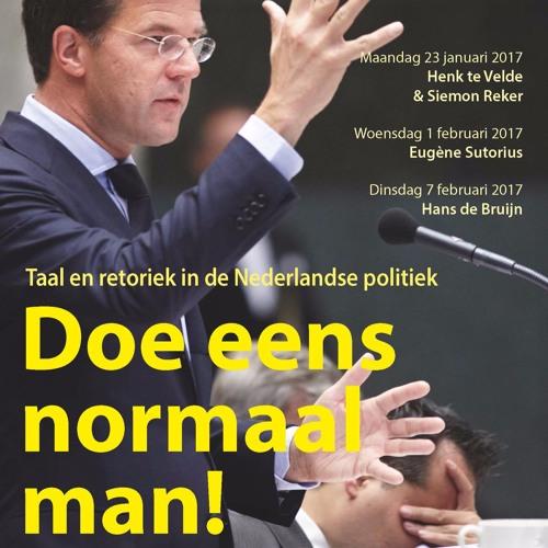 Doe eens normaal man! - Nederlandse politici kunnen wel spreken