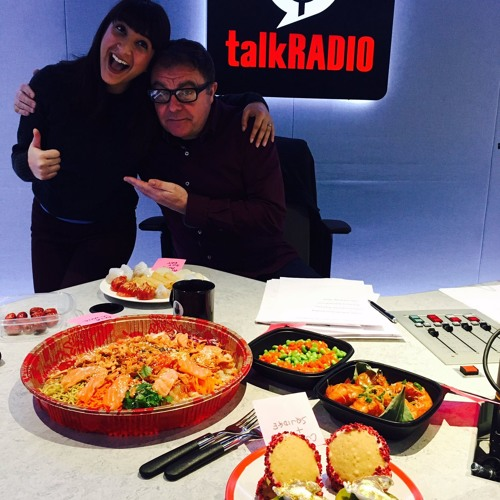 27th Jan 2017 - Chinese New Year - Annem Hobson from So Wrong It's Nom on TalkRADIO with Paul Ross