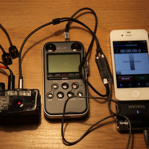 Test live recording iPhone