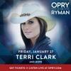 Terri Clark on the Grand Ole Opry, 1/27/17