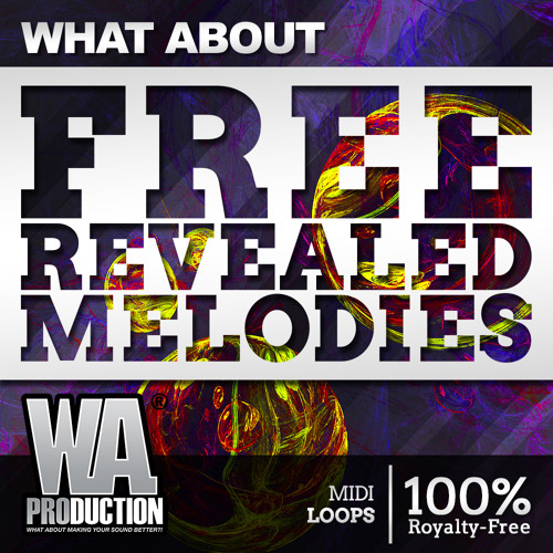 FREE Revealed Melodies | 60 MIDI Loops by W  A  Production